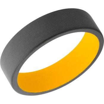 Zirconium 6mm flat band