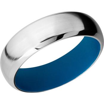 Cobalt Chrome 7mm domed band