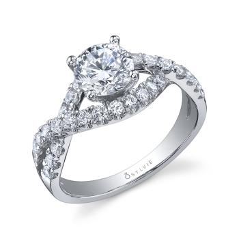 Spiral Engagement Ring
