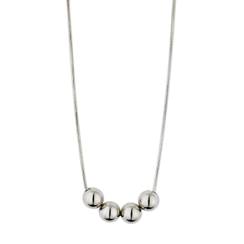 Snake Chain With Sterling Beads