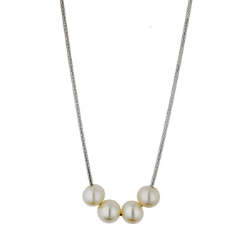 Snake Chain With Pearls
