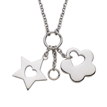 Flower and Star Pendant