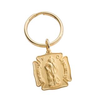 St Florian Key Ring