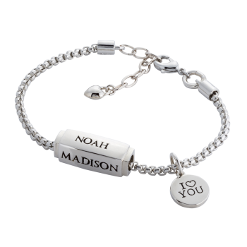 Engravable Cube Bracelet