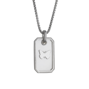 Butterfly Mother Of Pearl Pendant