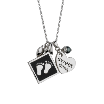 Sweet Thing With Baby Feet Pendant