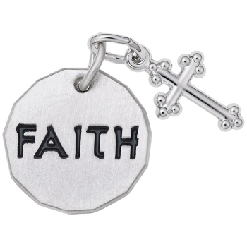 Faith Tag W/Cross