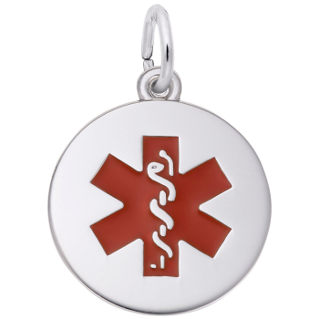Medical Symbol With Red Paint