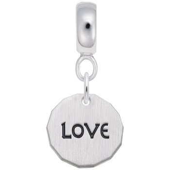 Love Charm Tag W/9152