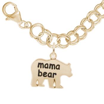 Mama Bear Bracelet Set