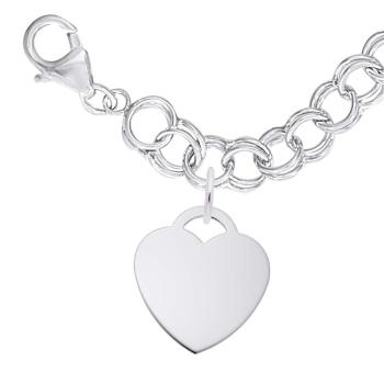 Lrg. Heart 35 Bracelet Set
