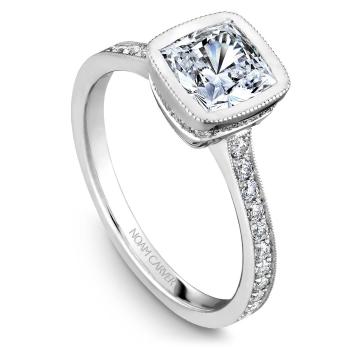 Bezel Engagement Ring