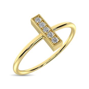 10K Yellow Gold Fashion Rings