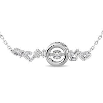 10K White Gold Fashion Necklaces