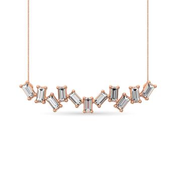 10K Rose Gold Fashion Necklaces