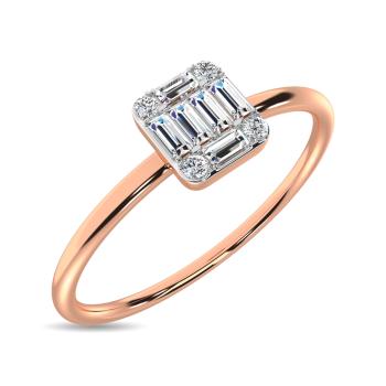 10K Rose Gold Promise Rings