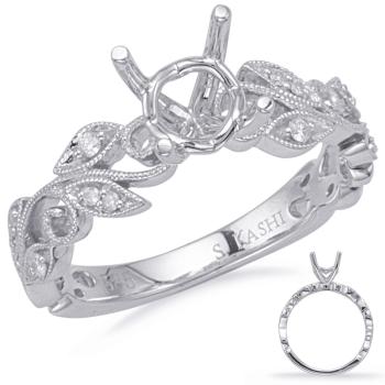 White Gold Engagment Ring