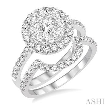 LOVEBRIGHT DIAMOND WEDDING SET
