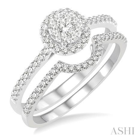 LOVEBRIGHT DIAMOND WEDDING SET