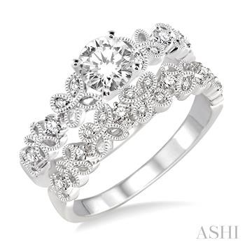 DIAMOND WEDDING SET