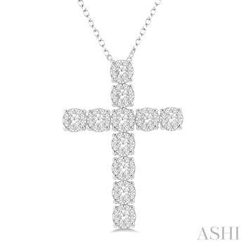 LOVEBRIGHT DIAMOND CROSS PENDANT