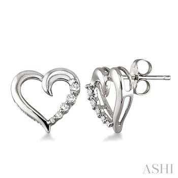 HEART JOURNEY DIAMOND EARRINGS