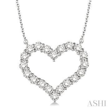 HEART DIAMOND NECKLACE